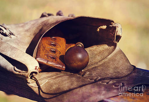 Muzzle Loader's Tools-Color by Pam  Holdsworth