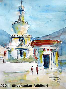 My Bhutan Memories by Shubhankar Adhikari