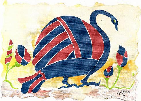 My Big Fat Greek Goose 1 by Elisabeta Hermann