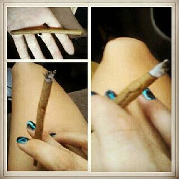 My Blunt Rolling Skills Aren't Perfect by Jamie H