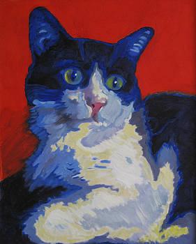 My Cat by Tatyana Holodnova