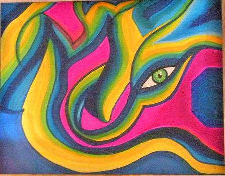 My eye by Tami Bush