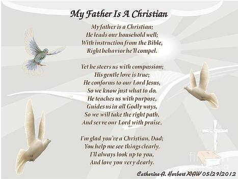 My Father Is A Christian Poem RAW by Catherine Herbert