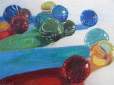 My Marbles by Fran Haas