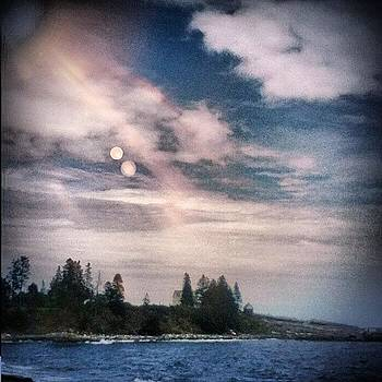 My Sanctuary #coast #clouds #ocean #sea by Tracey Manning