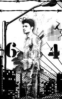 My self with Vintage Effects by Sahaya Minu Anish