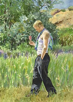 Anne Gifford - My Son Lex in Full Bloom