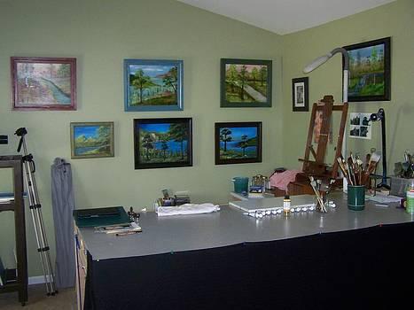My Studio by John Minarcik