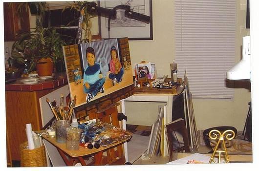 My Studio by Leonard R Wilkinson