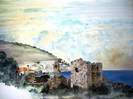 My village in Greece by Samir Sokhn
