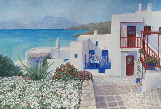 Mykonos Charm by Yvonne Boone