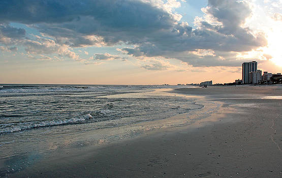 Myrtle Beach SC Sunset by Janet Pugh