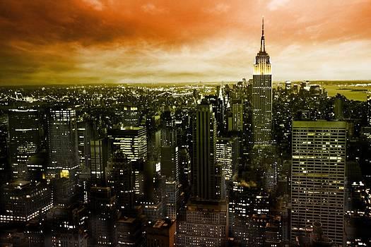 mystic New York by Marcel Schauer