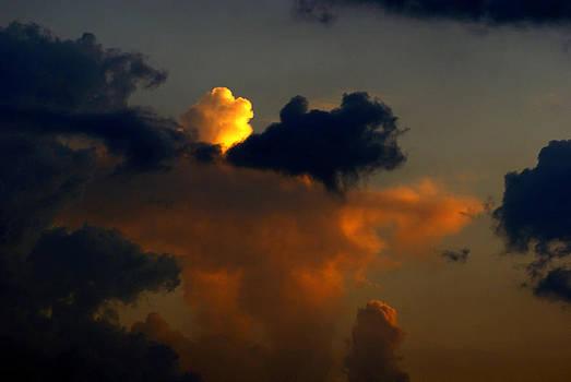 Mystical  Clouds by J Cheyenne Howell