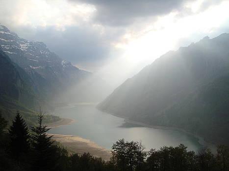 Mystical Mountain Lake by Benjamin Austin