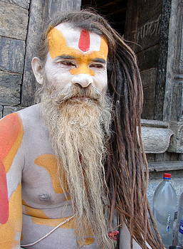 Anand Swaroop Manchiraju - NAGA SAINT IN NEPAL