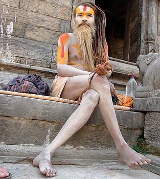 Anand Swaroop Manchiraju - NAGA SAINTSIN NEPAL