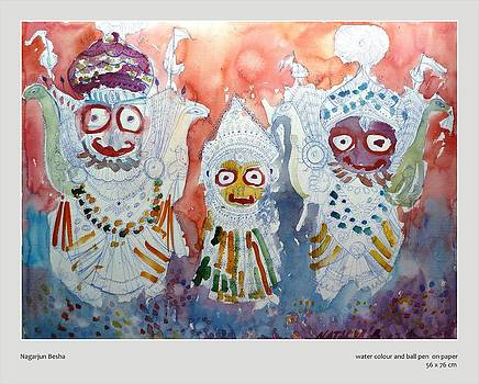 Nagarjun besha  by Natalya  Bhasin