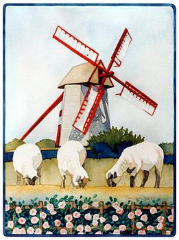 Nantucket Windmill by Tim Mullen