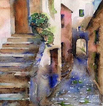 Narrow Street by Tania Vasylenko