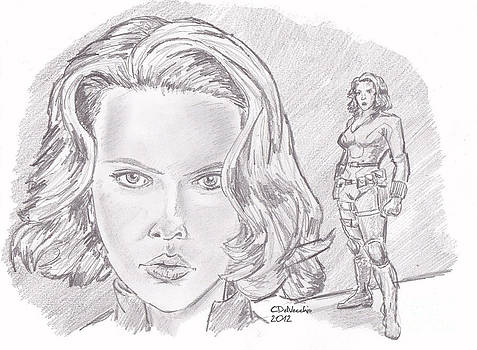 Chris  DelVecchio - Natasha Romanova- Black Widow
