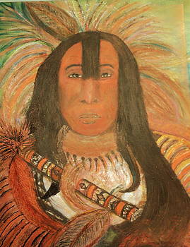 Anne-Elizabeth Whiteway - Native American Chief