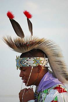 Native American Dancer by Kari Wallace