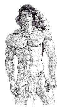 Native American Hunk by William Beyer