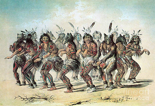 Photo Researchers - Native American Indian Bear Dance