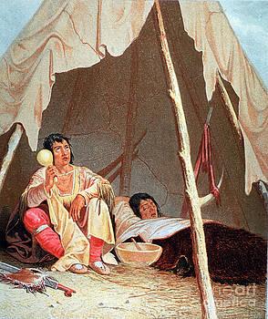 Science Source - Native American Indian Medicine Man
