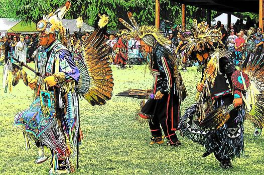 Native Dancers by Mark Cheney