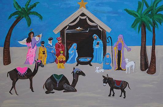 Nativity by Melanie Wadman