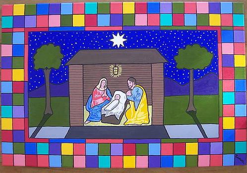 Nativity Scene by Eamon Reilly