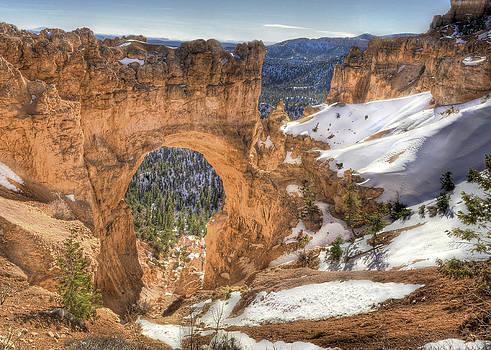 Natural Bridge Bryce Canyon by Don Mennig