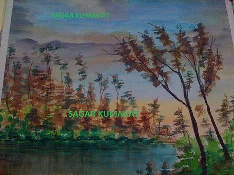 Nature Painting  by Sagar Kumavat