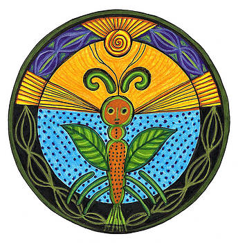 Nature Spirit Mandala by Robens Napolitan Tom Kramer