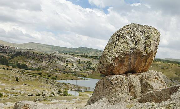 Kantilal Patel - Natures Design Balancing Lava Rocks