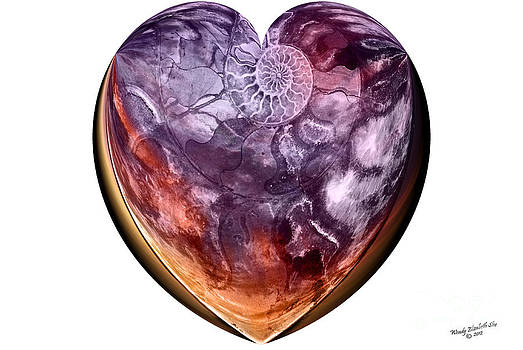Wendy Slee - Nautilus Heart I