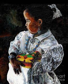 Navaho Child by Steven  Nakamura