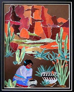 Navajo Potter by Carol Ann Wagner