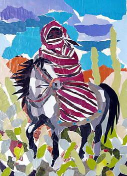 Navajo Rider by Carol Ann Wagner