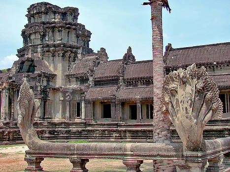 Roy Foos - Near Entrance Angkor Wat