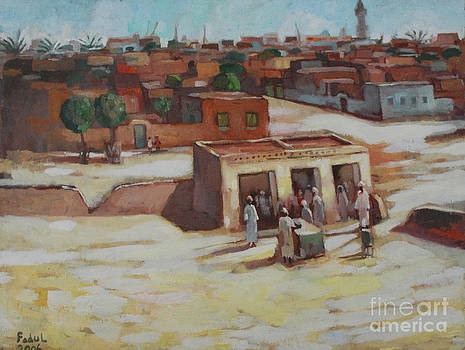 Near Khartoum by Mohamed Fadul