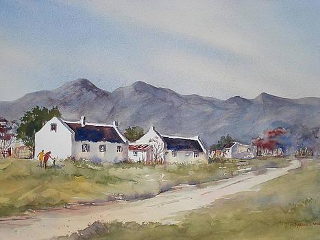 Near Stellenbosch by Marion Langton