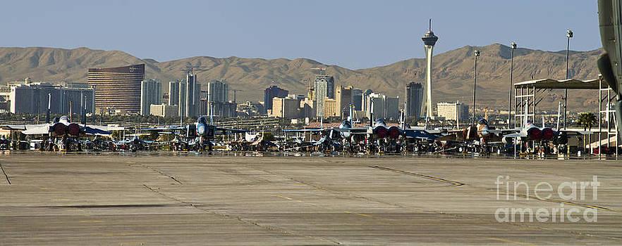 Tim Mulina - Nellis and Las Vegas Skyline