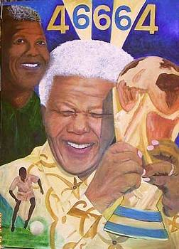 Nelson Mandela - The victory by Jeanne Silver