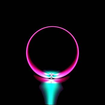 Neon Ring by Michael Hickey