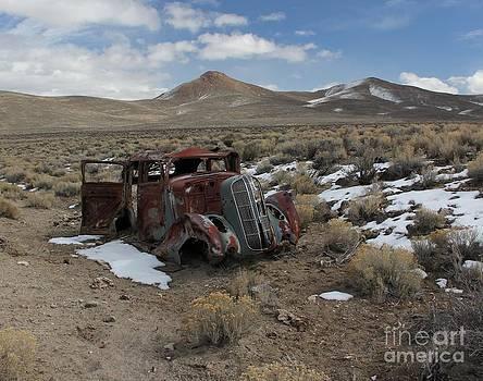 Nevada Desert Car by Lori Bristow