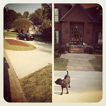 New Circular Drive, Walkway And Steps! by Trey Jackson