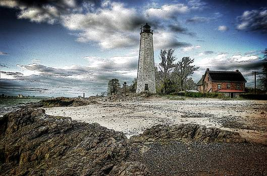New Haven Lighthouse II by Frank Garciarubio